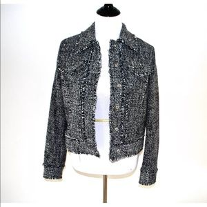 NWT Michael Kors black and white jacket